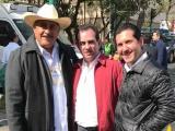 Pepe y Juan Carlos en el registro de José Antonio Meade