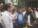 Una protesta más de antorchistas en el Ayuntamiento de Veracruz