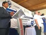 Santiago Gregorio Morales Rendón toma protesta como alcalde de Cuitláhuac