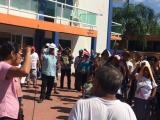 Nueva protesta de Antorcha en Medellín