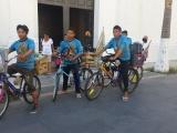 Recorren dos mil kms para demostrar fervor Guadalupano