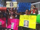 Realizan segunda protesta para exigir justicia para Maru