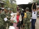 Gobierno de la República cumple con familias afectadas por Franklin y Katia: Anilú Ingram