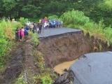 Sufre vías terrestres de los Tuxtlas las peores afectaciones por lluvias