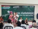 Se pronuncia Sheila Flores por igualdad de oportunidades para las mujeres
