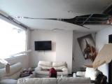 Explosión en casa del Pedro Gallese