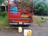 Asegura AIC en cateo cerca de 6 mil litros de hidrocarburo, un inmueble y una camioneta en Veracruz