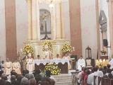 Realizan homilía en honor a la santísima Virgen María en la Catedral de Veracruz