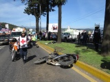 Accidentes en motos cada vez son más graves