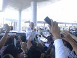 Llega AMLO a su primera gira en Veracruz