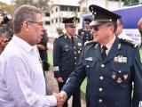 Asisten diputados al cambio de mando de la Sexta Región Militar
