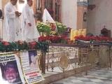 Realizan misa para familiares de personas desaparecidos