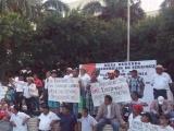 Ex trabajadores del SAS quieren dialogo directo con Fernando Yunes