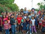 JMU celebra día de Reyes con niños boqueños
