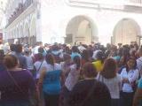 Se quejan Antorchista en Miercoles Ciudadano por obras inconclusa