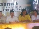 Sostiene Jazmín Copete que existe paz social en Veracruz