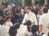 Gobernador rechaza amenazas contra acaldes