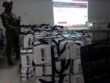 Permanece Marina  en Distrito XII del INE para resguardo de paquetería electoral