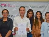 Juan Manuel Unánue recibe constancia de mayoría como diputado local electo del Distrito XVI