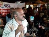 Desalojan plantón de empresarios de Palacio de Gobierno