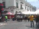 Primer Festival de la Juventud en el zócalo de Veracruz