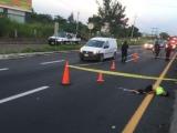 Trasladan a clínica a persona arrollada en autopista Veracruz-Cardel