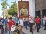 Realizan peregrinación en honor al Beato Ángel Darío