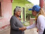 Pide Nora Lagunes el voto de la población de las altas montañas