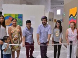 Inauguran muestra colectiva de pintura en el Palacio Legislativo