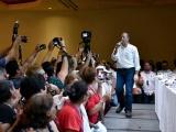 """Pepe Meade quiere que la militancia """"sude la camiseta"""""""