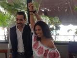 Le quieren ganar a Bingen, candidato de Panal declina a favor de Belem Palmeros