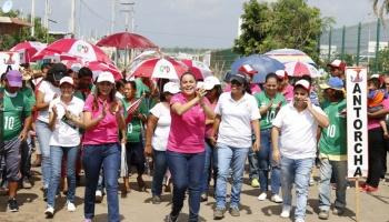 La zona rural de Veracruz está con nuestro proyecto: Fabiola Balmori