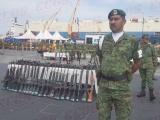 Destruyen mil 209 armas de fuego