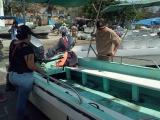Se hunden lancha cerca del Acuario de Veracruz