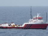 "Recibe atención médica tripulantes de la embarcación ""Leigh River"""