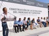 Constata Manterola Sainz el anuncio de rehabilitación del mercado municipal de Tlapacoyan