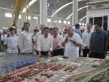 Supervisa Peña Nieto el avance del nuevo puerto de Veracruz