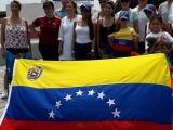 """Venezolanos """"jarochos"""" protestan por elecciones en Venezuela"""