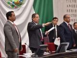 Diputado José Manuel Pozos, presidente de la Mesa Directiva de la LXV Legislatura