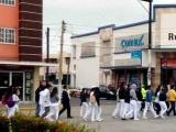 Marchan estudiantes de Medicina de la UV por crimen de Valeria Cruz