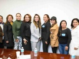 Recibe Anilú Ingram a alcaldesas de Veracruz en el Congreso