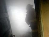 Incendio en vivienda deja dos personas intoxicadas