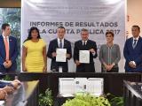 Recibe Congreso del ORFIS el Informe de Resultados de la Cuenta Pública 2017