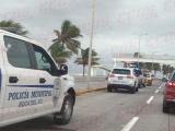 Violenta persecución en Boca del Río
