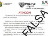 No hay toque de queda en el municipio de Veracruz