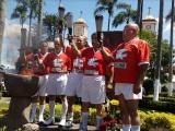 Celebra Coscomatepec 50 años del paso de llama olímpica