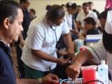 IMSS lleva jornada de salud a empresas portuarias