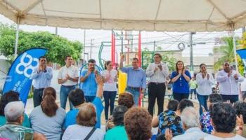 Presentan parques de Boca del Río 70 % en rehabilitación
