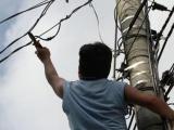 Presentarán denuncias ante FGE por robo de cableado del alumbrado público