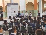 Reciben alumnos de la primaria Miguel Alemán edificio rehabilitado